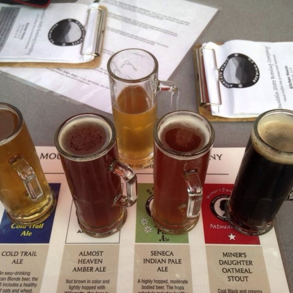Photo taken at Mountain State Brewing Co. by Katie W. on 5/25/2014