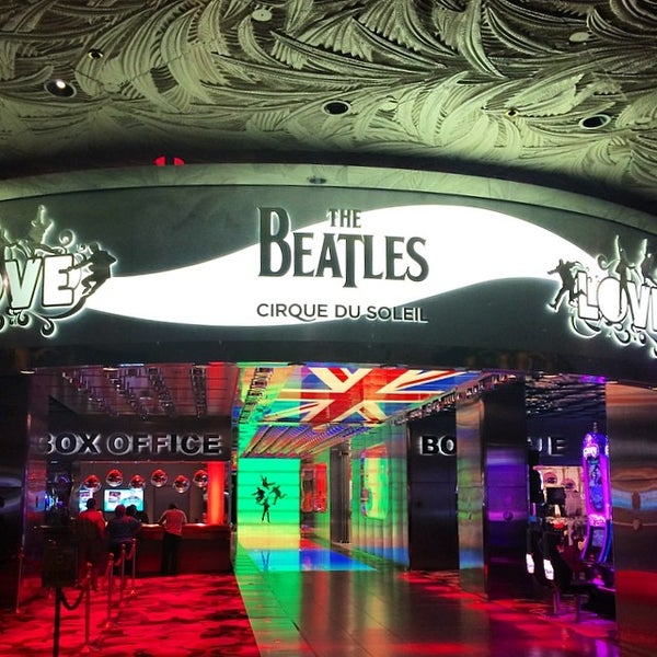 Photo taken at The Beatles LOVE (Cirque Du Soleil) by Ossi T. on 4/10/2014