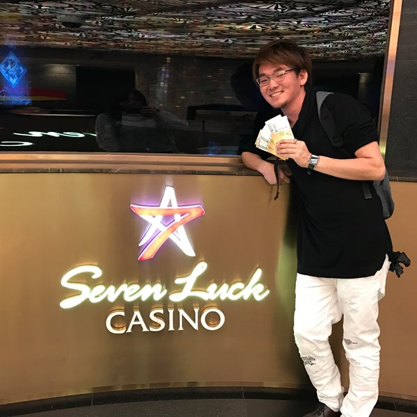 Photo taken at Seven Luck Casino by NAOKI Y. on 11/25/2016