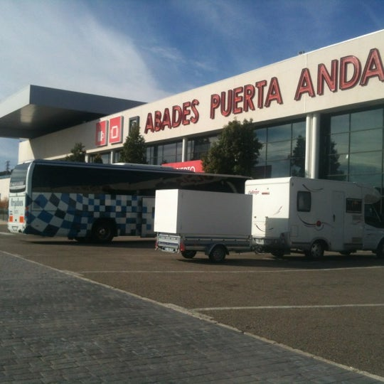 Photo taken at Abades Puerta de Andalucía by Manuel C. on 12/10/2012