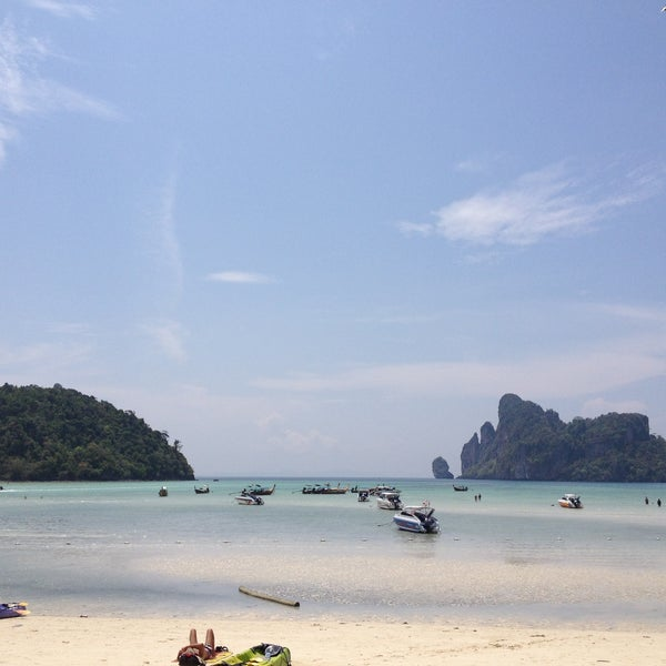 Photo taken at Phi Phi Island by Dewon R. on 4/23/2013