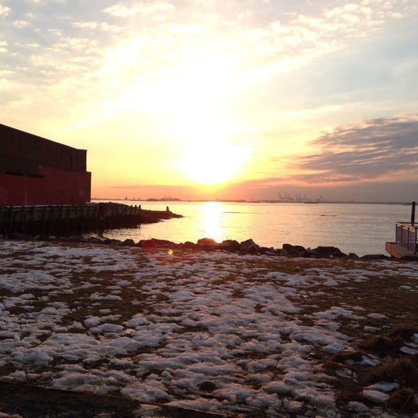 Photo taken at Louis Valentino, Jr. Park & Pier by Liz P. on 2/23/2014