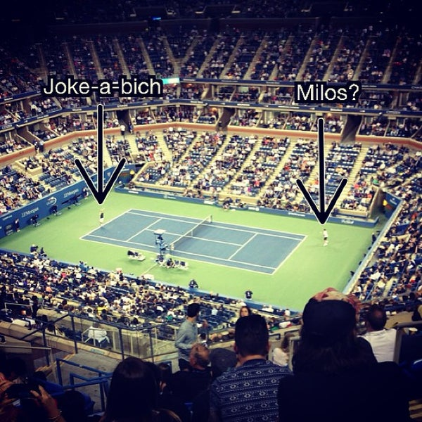 Photo taken at US Open Tennis Championships by Frank M. on 9/6/2013