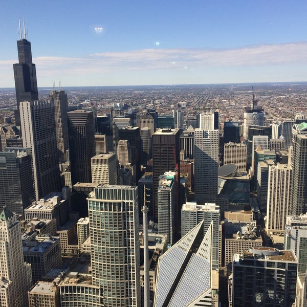 Photo taken at Aon Center by Chris H. on 10/17/2015