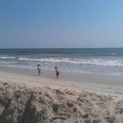 Photo taken at Carolina Beach by Kristin J. on 9/23/2012