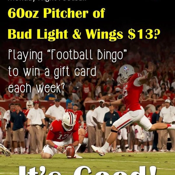Great deal for Monday night football, wings are unbelievable