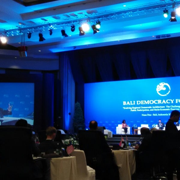 Photo taken at Bali International Convention Centre (BICC) by Arto S. on 10/11/2014