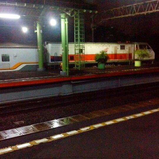 Photo taken at Stasiun Gambir by Agus J. on 6/16/2013