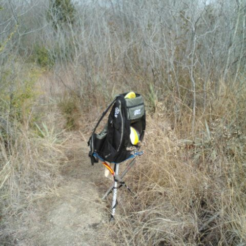 Photo taken at Saddle Hills Disc Golf Course by Karri S. on 1/5/2013
