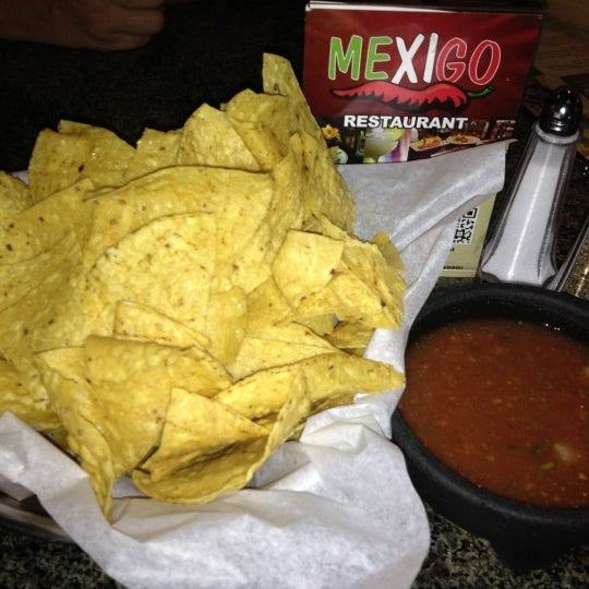 Photo taken at Mexi-Go Bar & Grill by Susan P. on 10/21/2012
