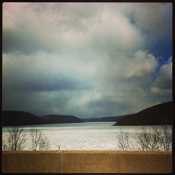 Photo taken at Kinzua Dam by karen on 4/3/2013