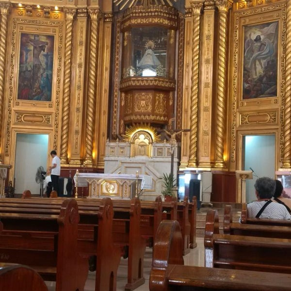 Photo taken at National Shrine of Our Lady of Peace and Good Voyage (Antipolo Cathedral) by Jerome Evance S. on 3/20/2015