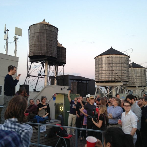 Photo taken at Meetup HQ Roof Deck by Brian Q. on 5/17/2013