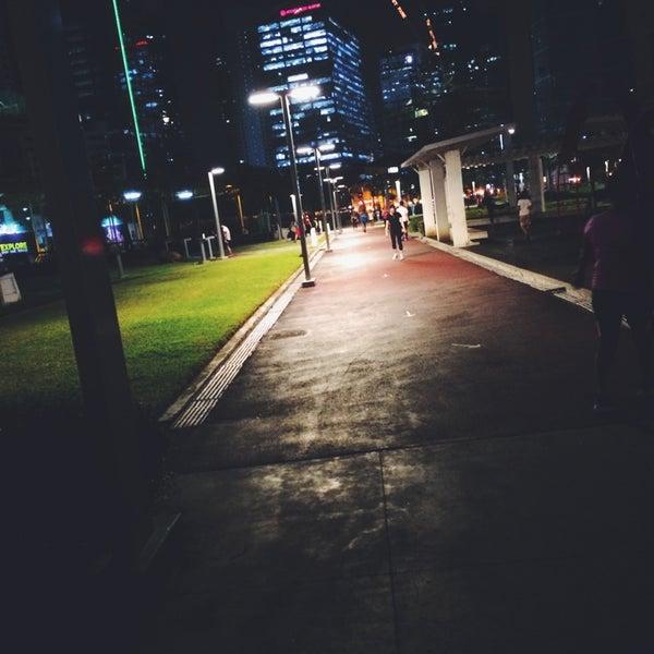 Photo taken at Bonifacio High Playground by Sayuri Y. on 9/2/2014
