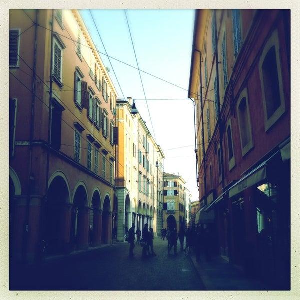 Photo taken at Via Emilia Centro by Stefano T. on 1/26/2013
