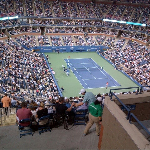 Photo taken at 2014 US Open Tennis Championships by Hector M. on 9/5/2013