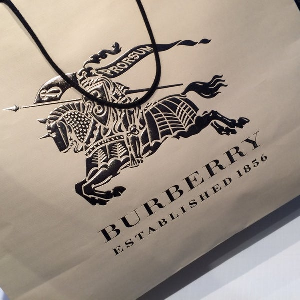 Photo taken at Burberry by Marcelo B. on 4/13/2014