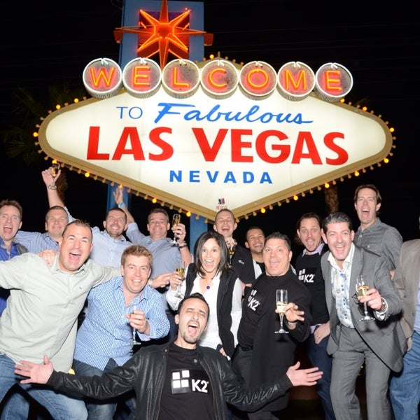 Photo taken at Welcome To Fabulous Las Vegas Sign by Jason T. on 3/6/2014