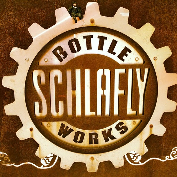 Photo taken at Schlafly Bottleworks by Maria B. on 8/3/2013