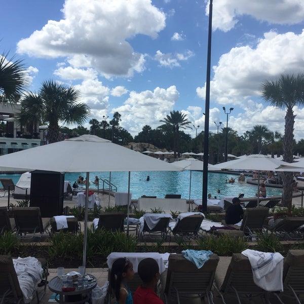 Photo taken at Marriott World Center Pool by Johnnie W. on 9/17/2016