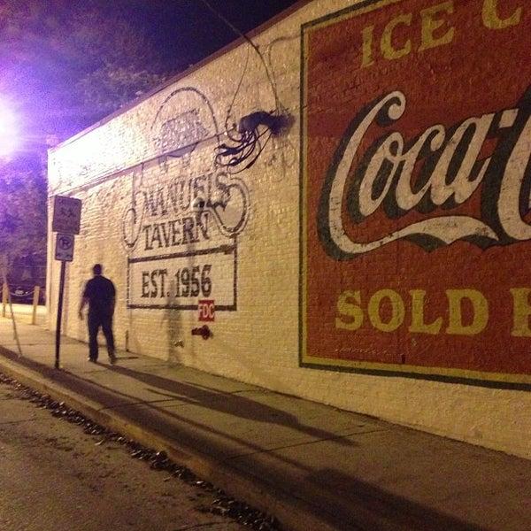 Photo taken at Manuel's Tavern by Vasha H. on 12/2/2012
