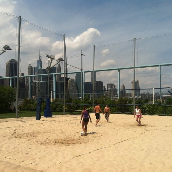Photo taken at Brooklyn Bridge Park - Pier 6 by Angie N. on 6/2/2013