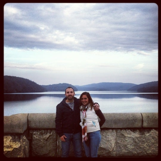 Photo taken at Croton Gorge Park by Amy on 11/10/2012