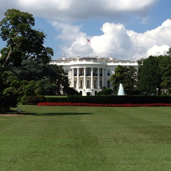 Photo taken at The White House by Luke F. on 7/23/2013
