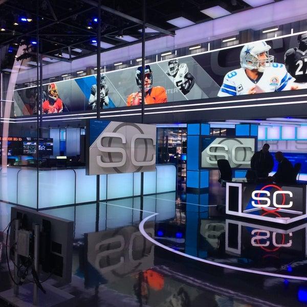 Photo taken at ESPN by Alex K. on 7/24/2014