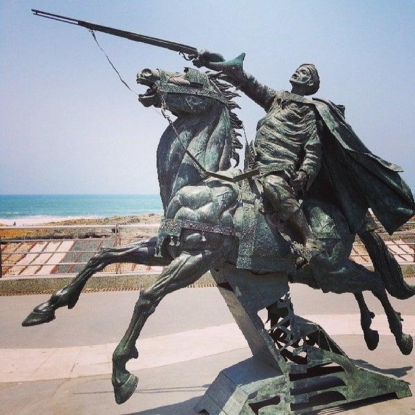 Photo taken at La Corniche de Casablanca by Youssef E. on 7/6/2013