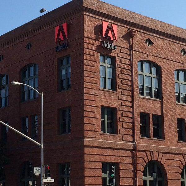 Photo taken at Adobe by Haruka I. on 4/3/2015