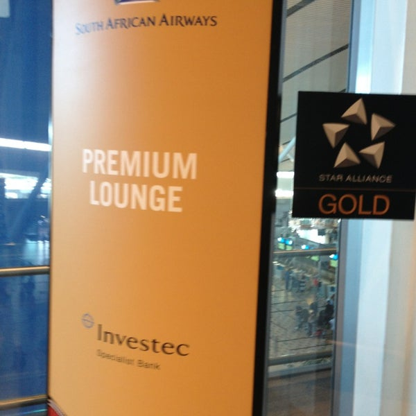 Photo taken at SAA Business Lounge Cape Town by Nick L. on 1/27/2013
