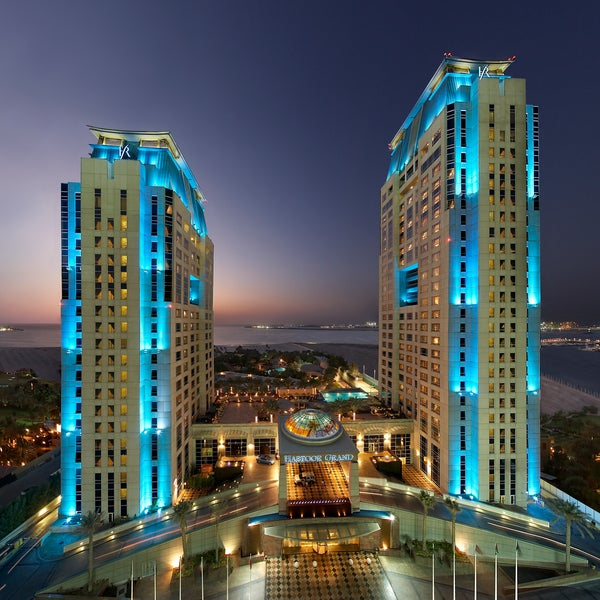 Photo taken at Habtoor Grand Beach Resort & Spa by Habtoor Grand Beach Resort & Spa on 11/4/2014