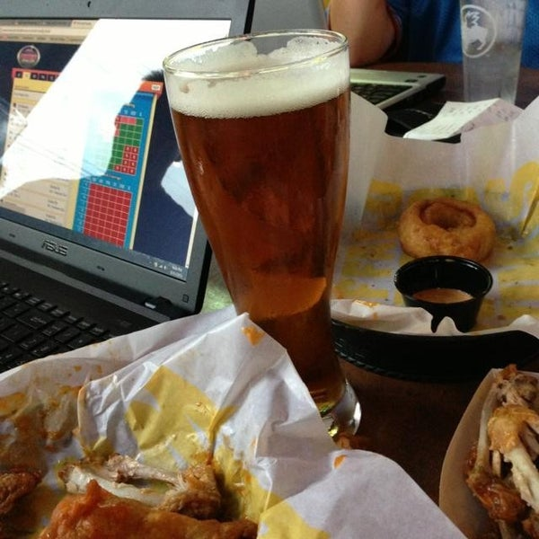 Photo taken at Buffalo Wild Wings by George H. on 8/31/2013