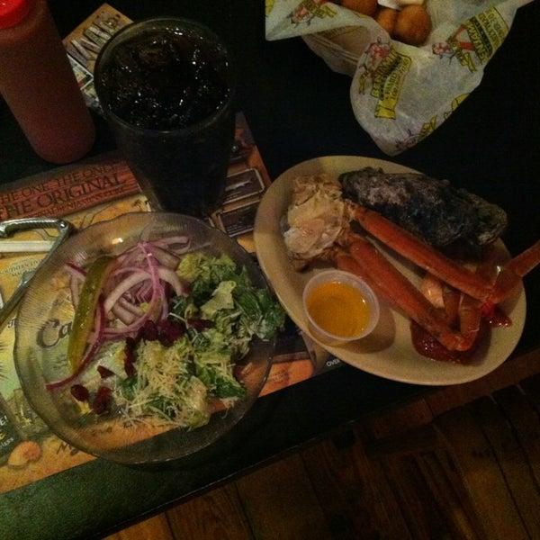 Photo taken at The Original Benjamin's Calabash Seafood by Peter K. on 1/9/2013
