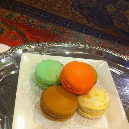 Photo taken at La Maison du Macaron by Judy H. on 6/8/2012