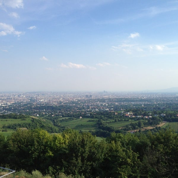 Photo taken at Kahlenberg by Begum T. on 7/26/2013