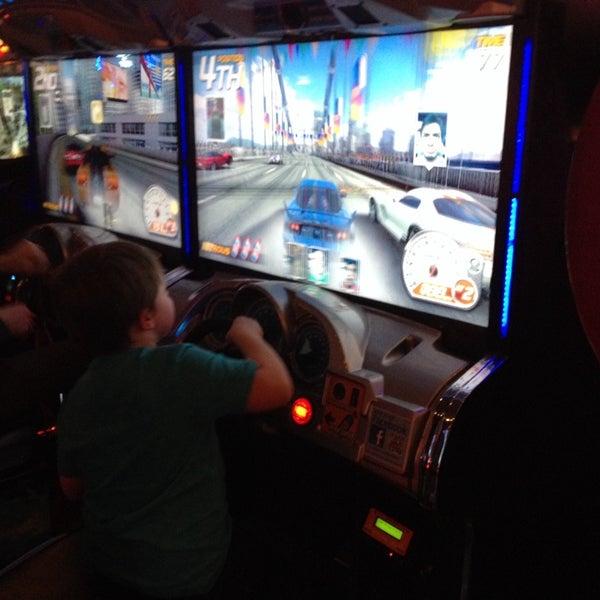 Photo taken at Dave & Buster's by David H. on 2/16/2014