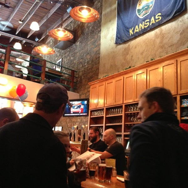 Photo taken at Free State Brewing Company by Greg B. on 2/16/2013