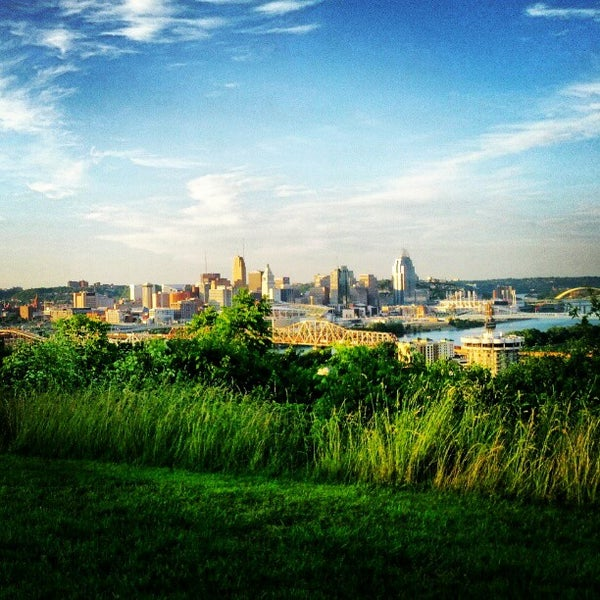 Photo taken at Devou Overlook by Andy L. on 5/31/2012