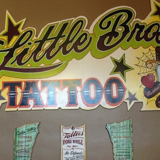 Little bros authentic ink tattoo piercing 1 tip for Lil bros tattoo council bluffs ia
