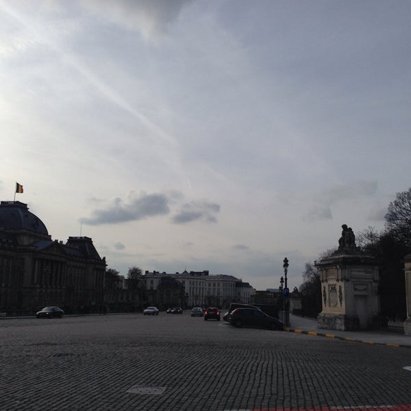Photo taken at Paleizenplein / Place des Palais by ChrisTine M. on 3/2/2014