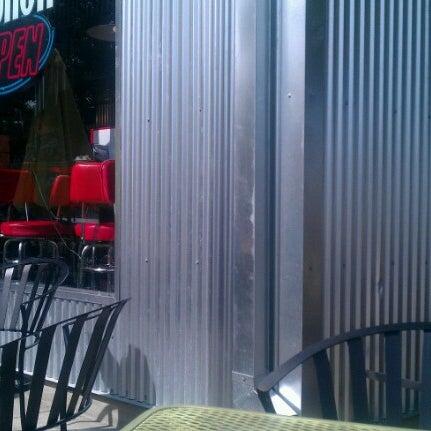 Photo taken at Donut Dinette by Derron F. on 9/20/2012