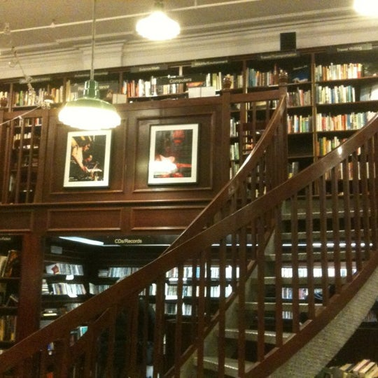 Photo taken at Housing Works Bookstore Cafe by Michael H. on 3/15/2012