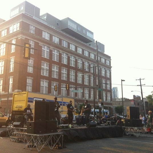 Photo taken at Night Market Washington Avenue by ShotsFired215 on 6/28/2012