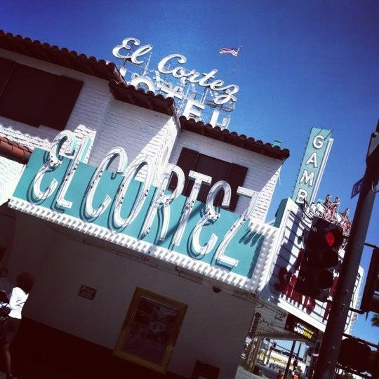 Photo taken at El Cortez Hotel & Casino by Joel J. on 6/8/2012