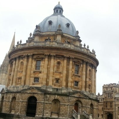 Photo taken at Radcliffe Camera by youngki J. on 9/2/2012