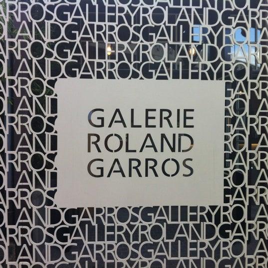 Photo taken at Stade Roland Garros by Arnavik M. on 6/30/2012
