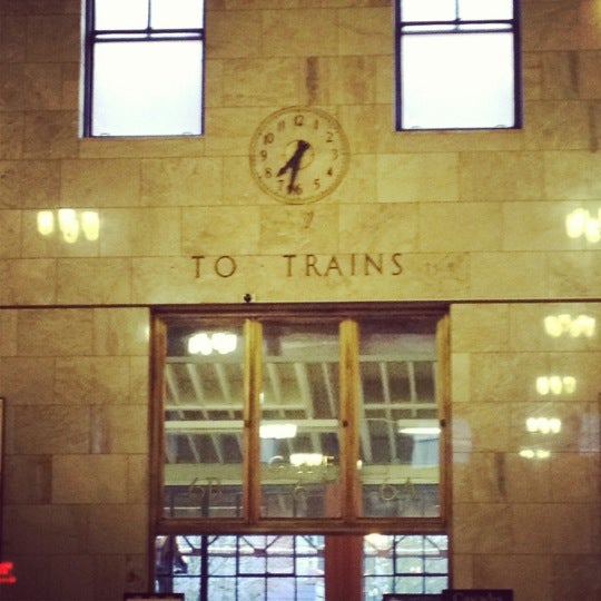 Photo taken at Union Station Amtrak (PDX) by Melissa on 3/23/2012