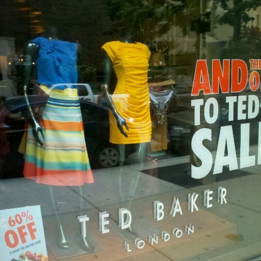 Photo taken at Ted Baker by David R. on 7/4/2012